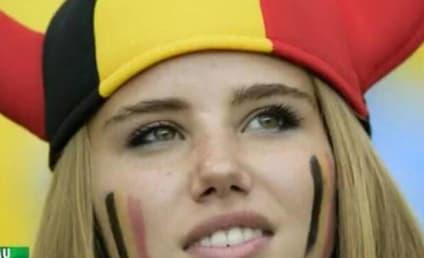 Axelle Despiegelaere, HOT Belgium Soccer Fan, Lands L'Oreal Commercial