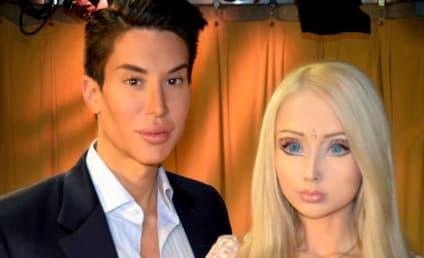 Human Barbie RIPPED By Human Ken: Justin Jedlica Not a Valeria Lukyanova Fan!