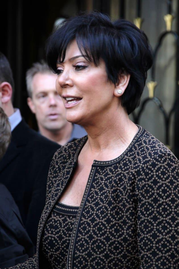 Kris Jenner in Paris