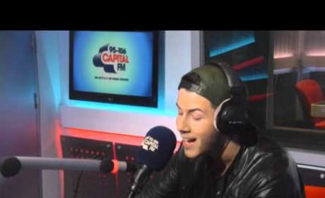 Nick Jonas Covers Ariana Grande: Watch Him Whisper!