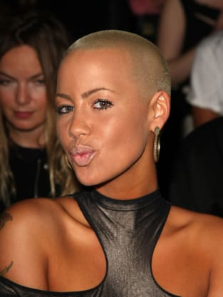 Amber Rose at Fashion Week