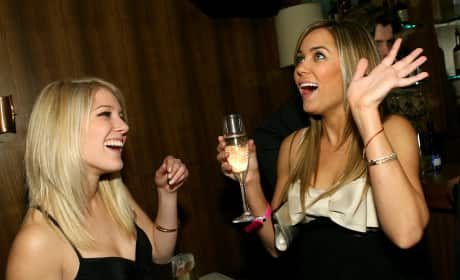 Lauren Conrad Celebrates Her 21st Birthday With Heidi Montag