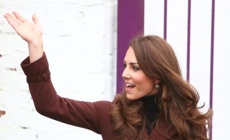 Kate Middleton Visits The Brink Alcohol-Free Bar