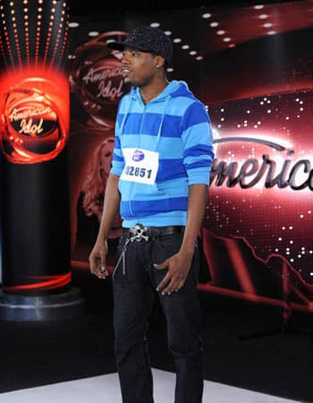 Jermaine Sellers on Idol