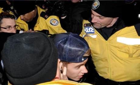 Atlanta Residents Protest Justin Bieber