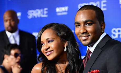 Bobbi Kristina Brown and Nick Gordon: Sparkle Premiere