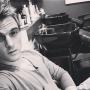 Aaron Carter Selfie