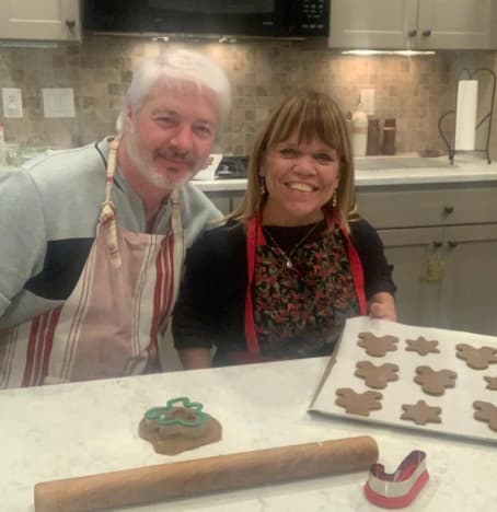 Amy Roloff and Chris Marek in Kitchen