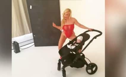 Coco Twerks in Lingerie With Her Baby, World Goes WTF??