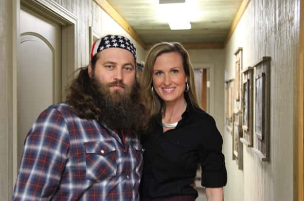 Willie and Korie Robertson