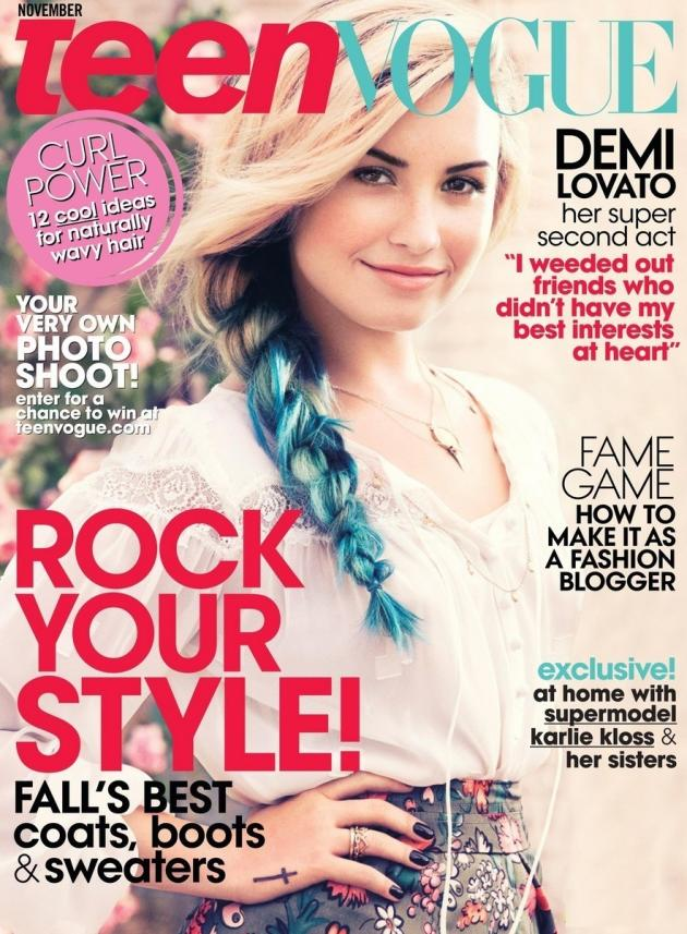 Demi Lovato Teen Vogue Cover