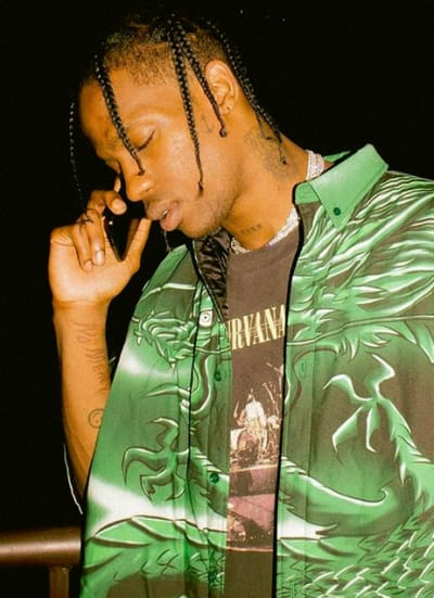 4ac124459f60 Travis Scott Denies Shunning Trans Model on Album Cover: This is for  Everyone!