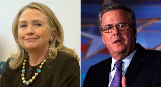 Hillary Clinton vs. Jeb Bush