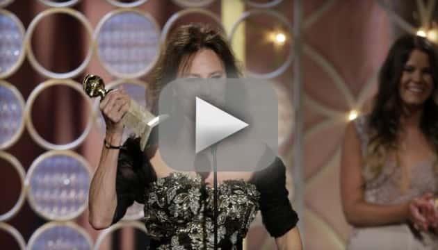Jacqueline Bisset Golden Globes Speech