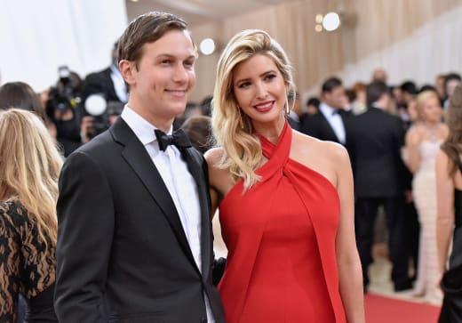 Jared Kushner Ivanka Trump Met Ball 2016