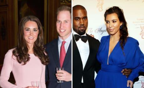 Kim and Kanye to Recreate Royal Balcony Kiss