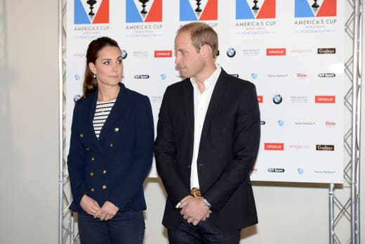 William and Kate:  British Leg of the America's Cup World Series