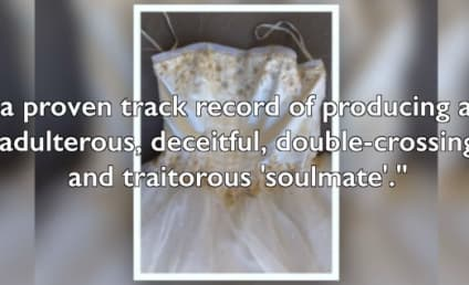 Used Wedding Dress Ad DESTROYS Cheating Ex in Bitter Product Description
