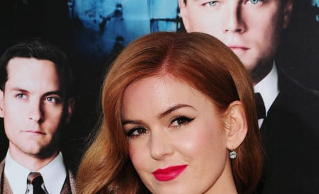 Isla Fisher at Great Gatsby Premiere