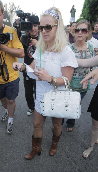 Britney Spears Cowboy Boots