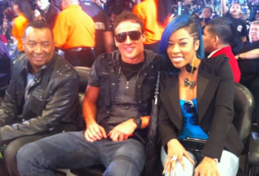 Ryan Lochte and K. Michelle: Dating?! - The Hollywood Gossip K Michelle And Ryan Lochte