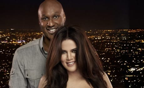 Khloe and Lamar in Happier Times
