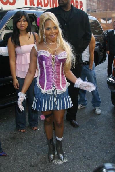 Lil Kim Mini Skirt