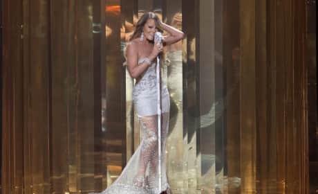 Mariah Carey Stage Performance