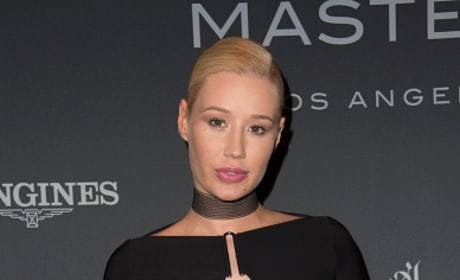 Iggy Azalea Attends US-ENTERTAINMENT-LONGINES-MASTERS-GALA