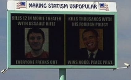 James Holmes-Obama Billboard Sparks Controversy
