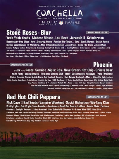 Coachella 2013 Poster