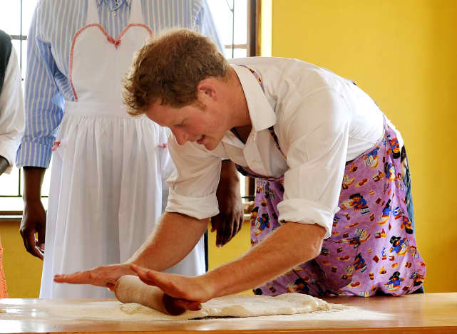 Donning An Apron