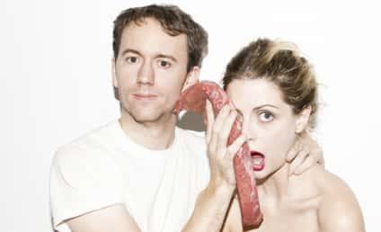 Steak Out: Mischa Barton Sinks Teeth Into Bizarre Photo Shoot