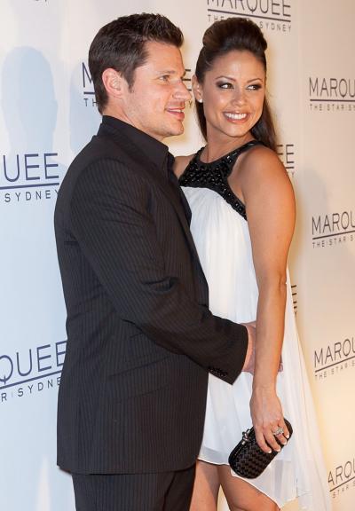 Nick Lachey and Vanessa Minillo Pic