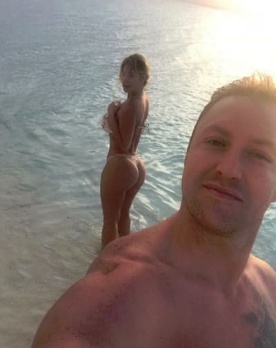 Kroy Biermann Selfie with Kim Zolciak