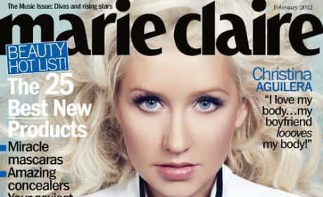 Christina Aguilera Marie Claire Cover