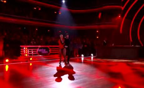 Amber Rose Performs Cha Cha on Dancing with the Stars