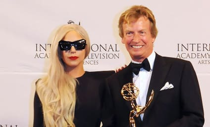 Lady Gaga Presents at International Emmys