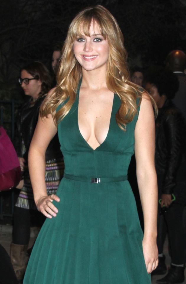 Jennifer Lawrence in NYC