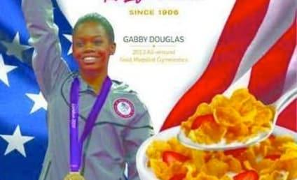 Gabby Douglas: Corn Flakes Box All-Star!