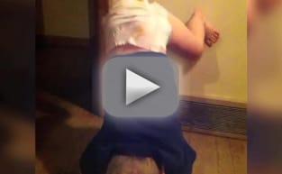 Girl giving a twerking demo - 5 1