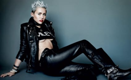 Miley Cyrus Bares Buttocks, Breasts and Soul