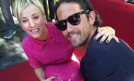 Kaley Cuoco Walk of Fame Photo