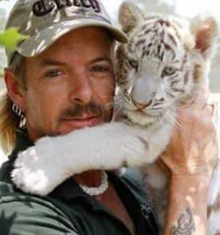 Joe Exotic & Baby Cub