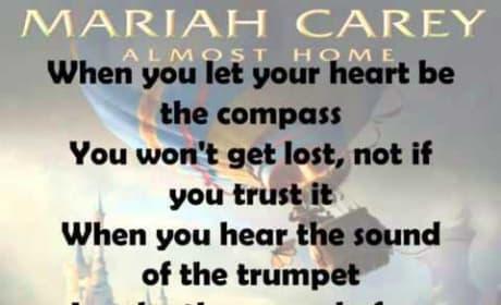 Mariah Carey - Almost Home (Lyric Video)