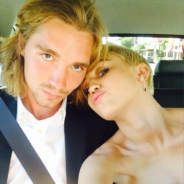 Miley Cyrus and Jesse Helt