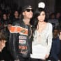 Tyga and Kylie Jenner at Fashion Week