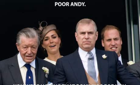 Kate Middleton Makes Fun of Prince Andrew