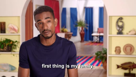 Harris - first thing is my family