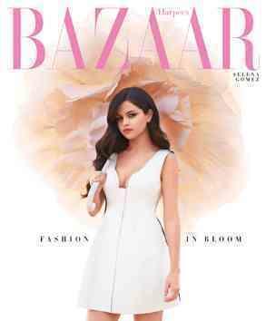 Selena Gomez Harper's Bazaar Pic